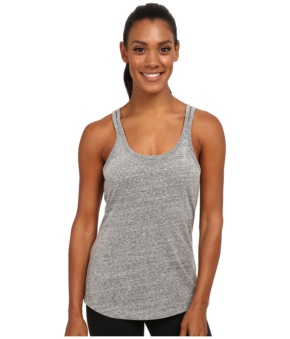 Reebok - Elements Tank Top (Black) Women's Sleeveless