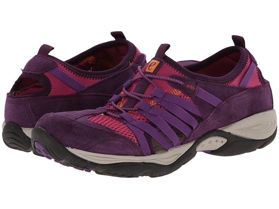 Easy Spirit - Ezline (Dark Purple Multi Suede) Women's Shoes