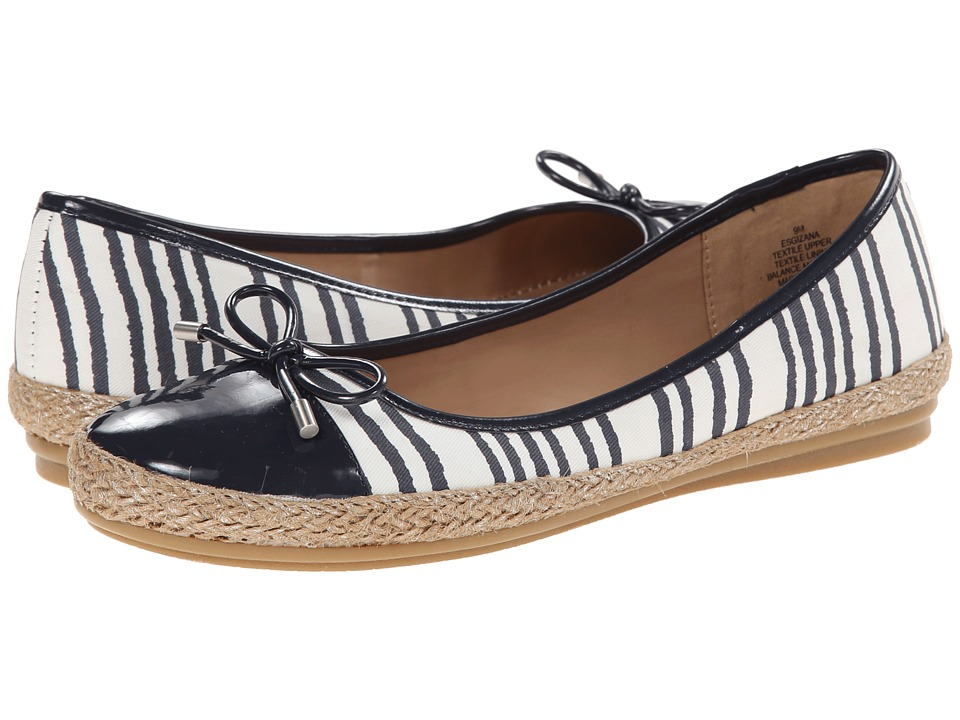 Easy Spirit - Gizana (Navy Multi/Navy Fabric) Women's Shoes