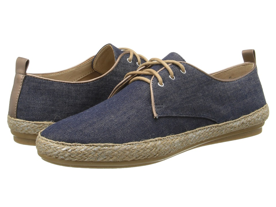 Easy Spirit - Gabino (Dark Blue/Light Copper Fabric) Women's Shoes