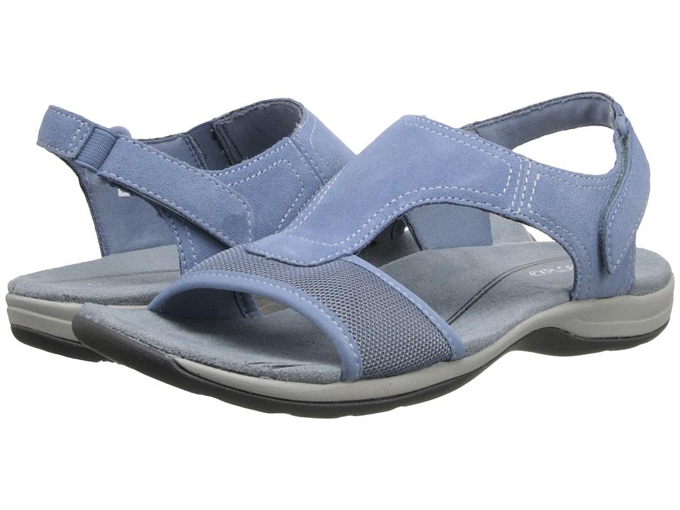 Easy Spirit - Seacoast (Light Blue/Light Blue Suede) Women's Shoes