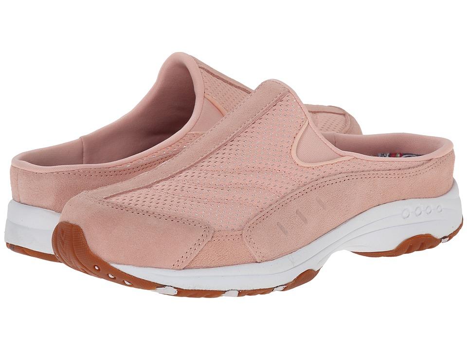 Easy Spirit - Traveltime (Light Orange/Light Orange Suede) Women's Clog Shoes