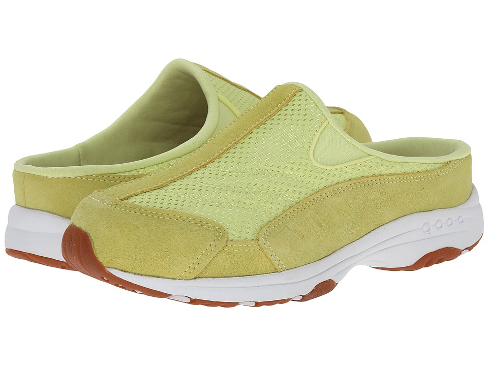 Easy Spirit - Traveltime (Light Yellow/Light Yellow Suede) Women