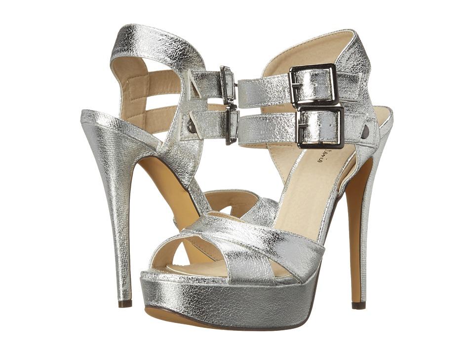 Michael Antonio - Tira - Metallic (Silver) High Heels