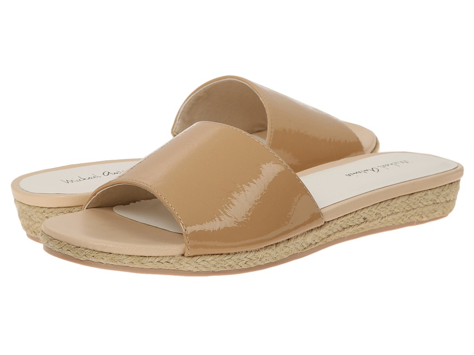 Michael Antonio - Dex - Patent (Natural) Women's Sandals