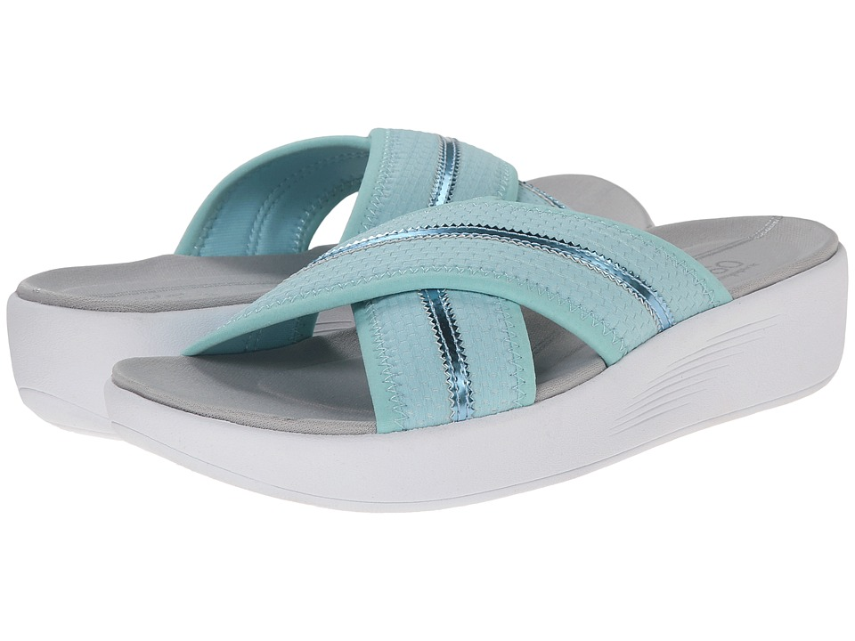 Easy Spirit - Beach (Light Blue/Light Blue Fabric) Women's Shoes