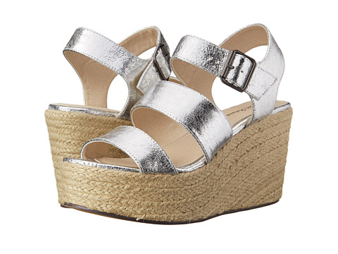 Michael Antonio - Gensen (Silver) Women's Wedge Shoes