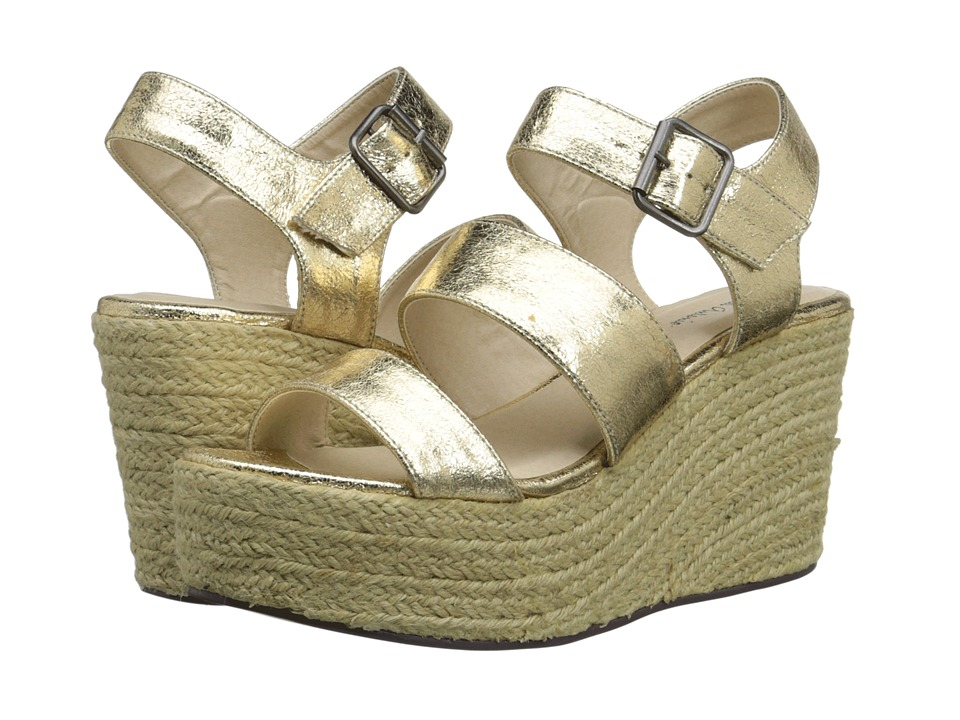 Michael Antonio - Gensen (Gold) Women's Wedge Shoes