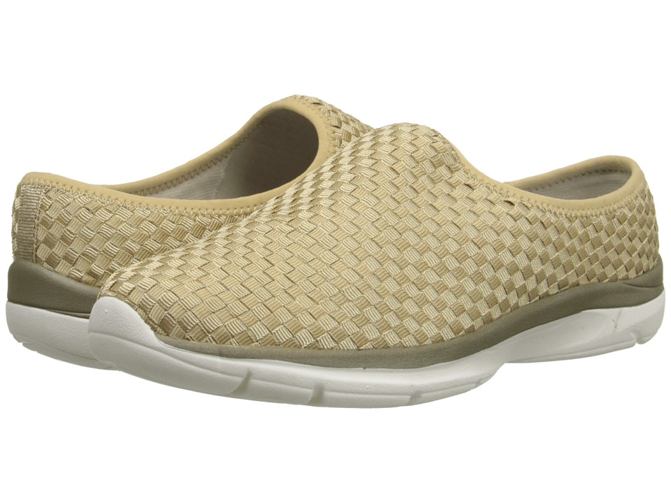 Easy Spirit - Quinby (Light Gold Fabric) Women