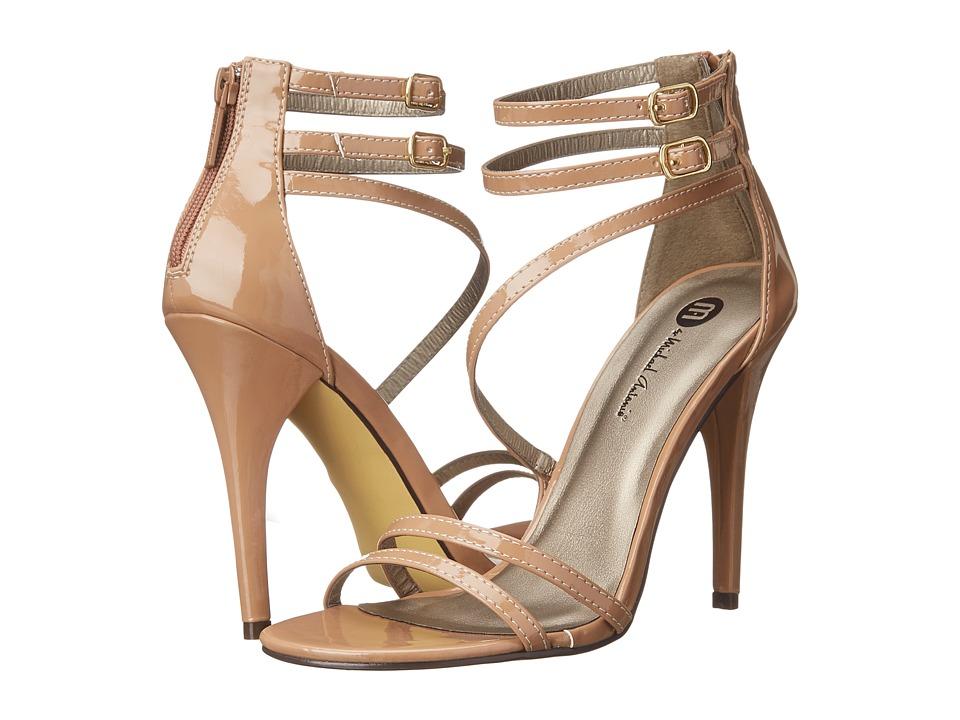 Michael Antonio - Jovan - Patent (Nude) High Heels