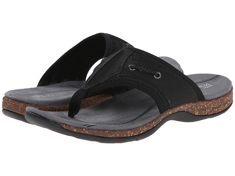 Easy Spirit - Sunbeam (Black/Black Leather) Women