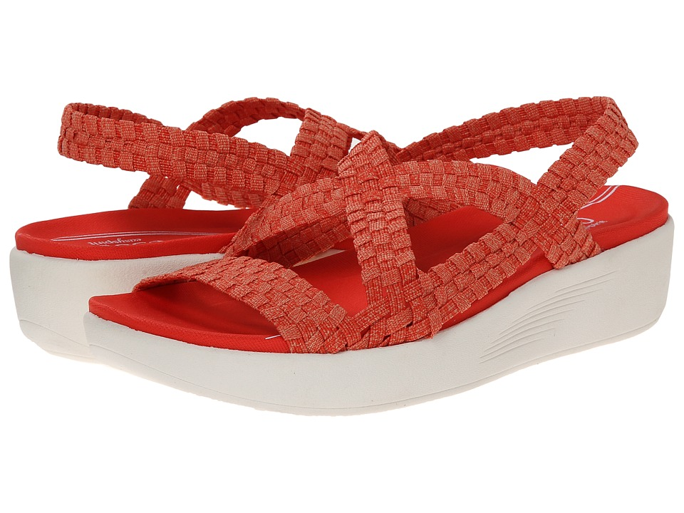 Easy Spirit - Brickroad (Medium Red Multi Fabric) Women's Shoes