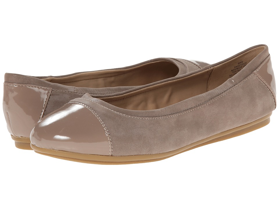 Easy Spirit - Gessica (Taupe Multi Synthetic) Women's Slip on Shoes
