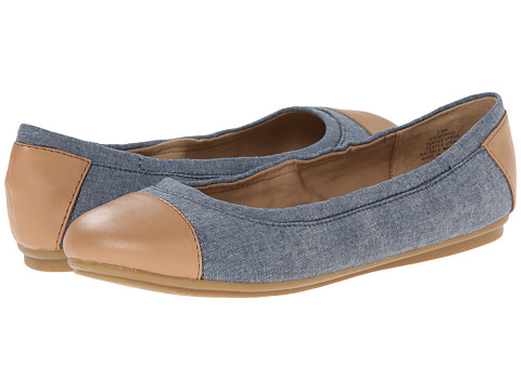 Easy Spirit - Gessica (Medium Blue Multi Fabric) Women's Slip on Shoes