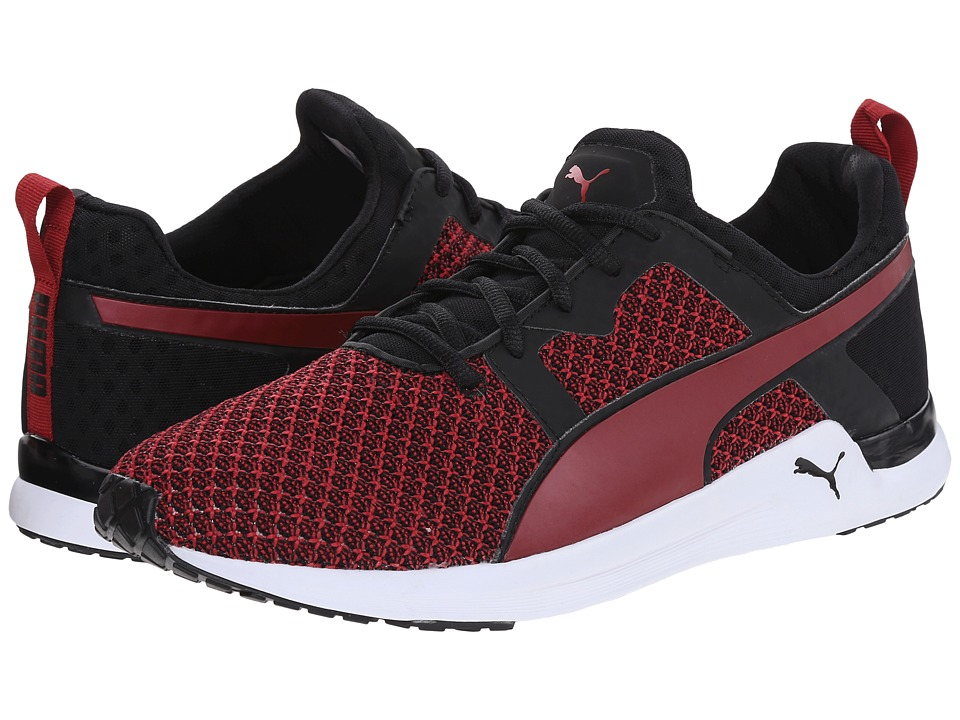PUMA - Pulse XT Knit (Black/Scooter) Men's Shoes