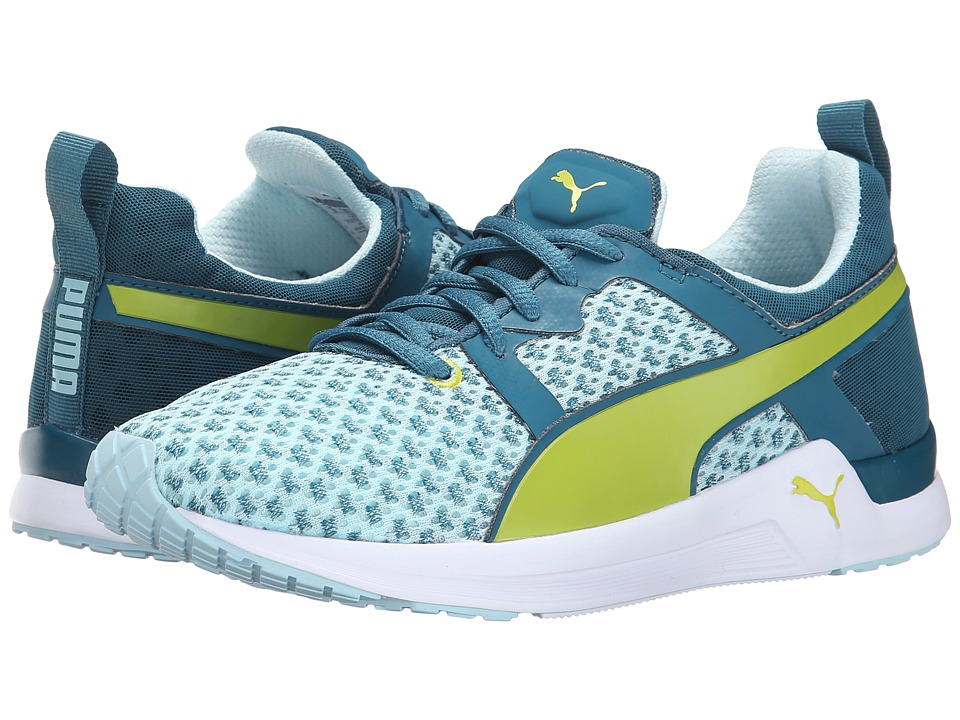 PUMA - Pulse XT Geo (Blue Coral/Sulphur Spring) Women's Shoes