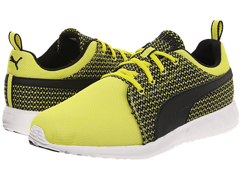 PUMA - Carson Runner Knit (Sulphur Spring/Black) Men