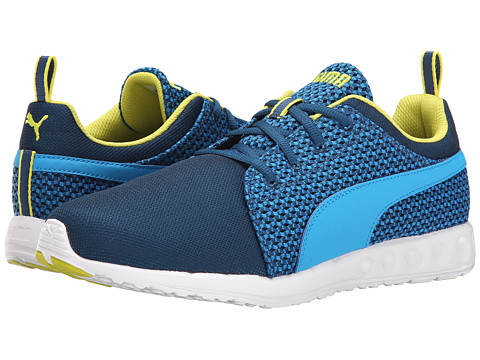 PUMA - Carson Runner Knit (Poseidon/Cloisonn /Sulphur Spring) Men's Shoes