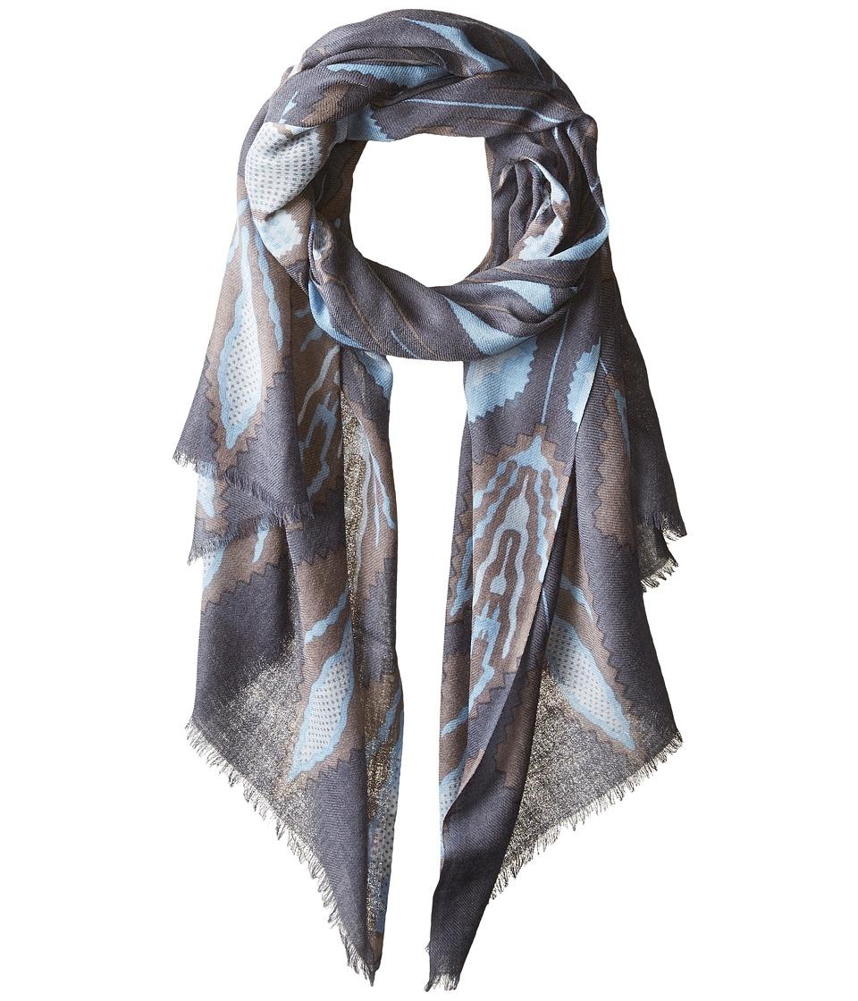 Pistil - Lupita Scarf (Gray) Scarves