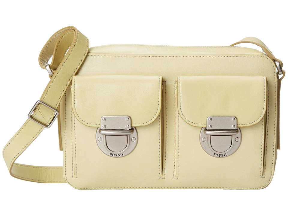 Fossil - Riley Top Zip (Green) Top-Zip Handbags