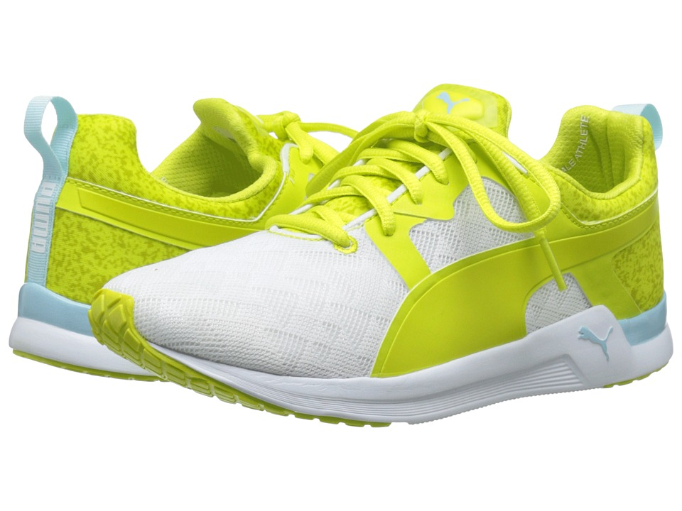 PUMA - Pulse XT Sport (White/Sulphur Spring) Women's Shoes