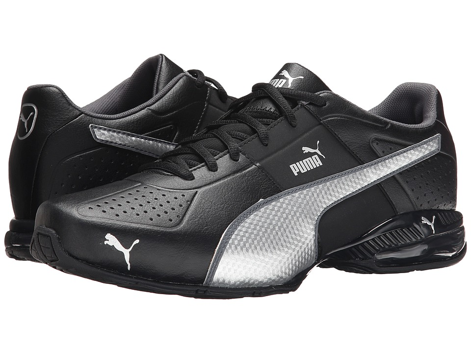 PUMA - Cell Surin 2 (Black/Puma Silver/Dark Shadow) Men's Shoes