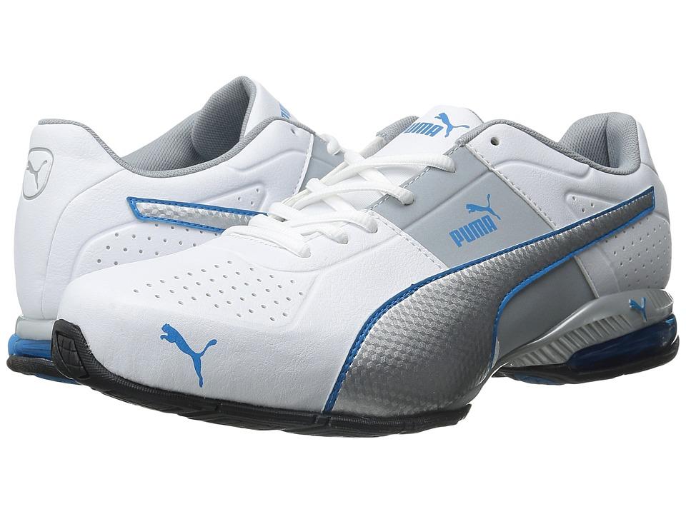PUMA - Cell Surin 2 (White/Puma Silver/Cloisonn ) Men's Shoes