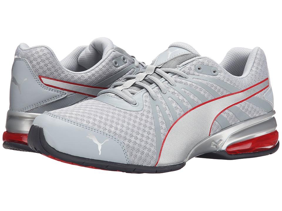 PUMA - Cell Kilter (Quarry/Puma Silver/Red) Men's Shoes