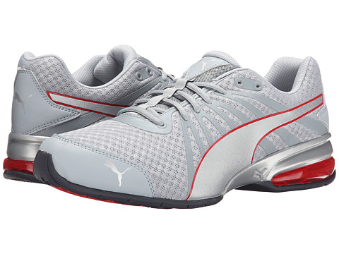 PUMA - Cell Kilter (Quarry/Puma Silver/Red) Men's Shoes