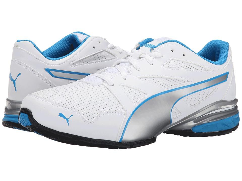 PUMA - Tazon Modern SL (White/Puma Silver/Cloisonn ) Men's Shoes