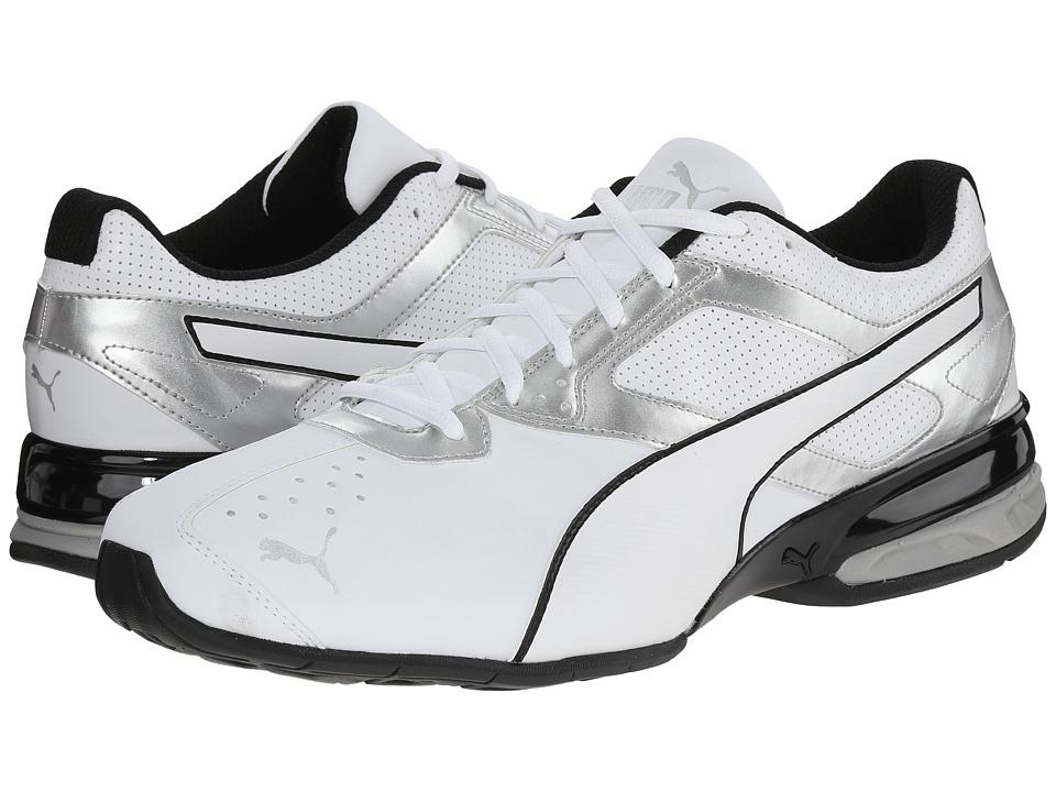 PUMA - Tazon 6 (White/Puma Silver/Black) Men's Shoes