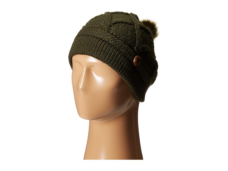 Pistil - Cate (Olive) Knit Hats