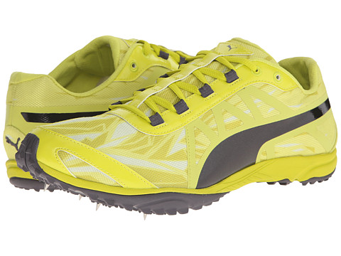 PUMA - Haraka XCS V2 (Sulphur Spring/Black) Men's Shoes