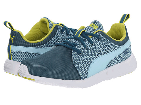 PUMA - Carson Runner Knit (Clearwater/Sulphur Spring) Women's Shoes