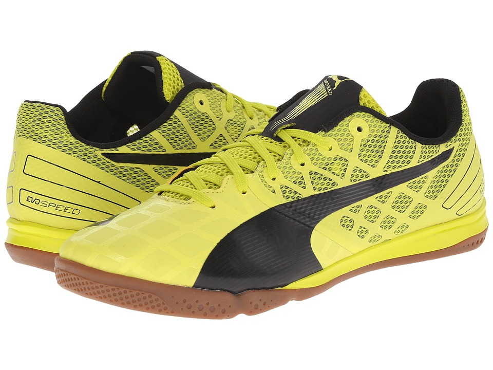 PUMA - evoSPEED Sala 3.4 (Sulphur Spring/Black) Men