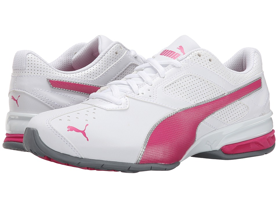 PUMA - Tazon 6 (White/Fuchsia Purple/Puma Silver) Women's Shoes