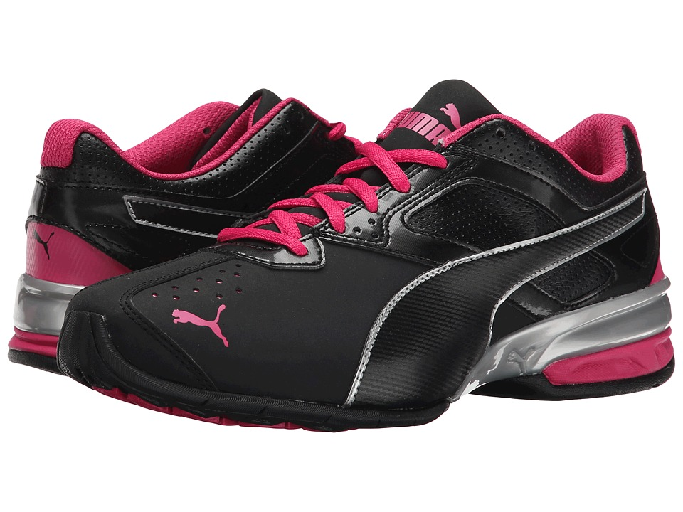PUMA - Tazon 6 (Black/Puma Silver/Beetroot Purple) Women's Shoes