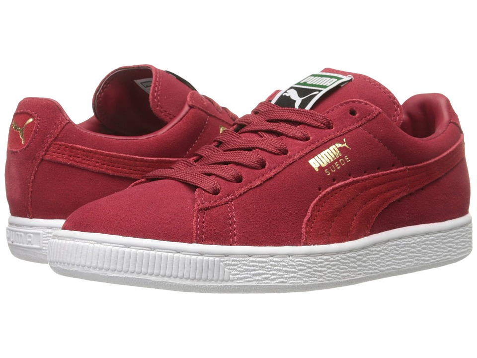 PUMA - Suede Classic+ (Rio Red/High Risk Red) Men's Shoes