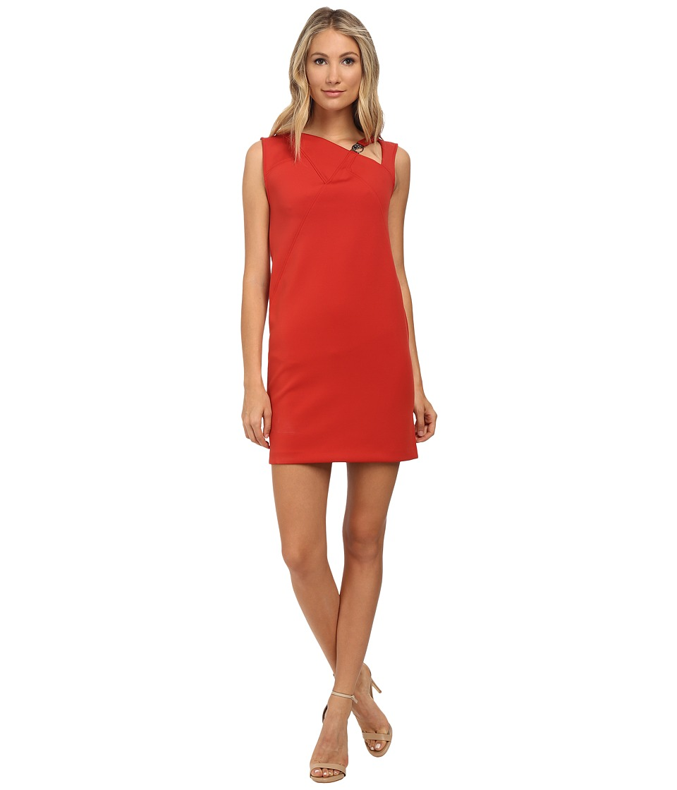 Versace Collection - Scuba Dress (Red) Women's Dress
