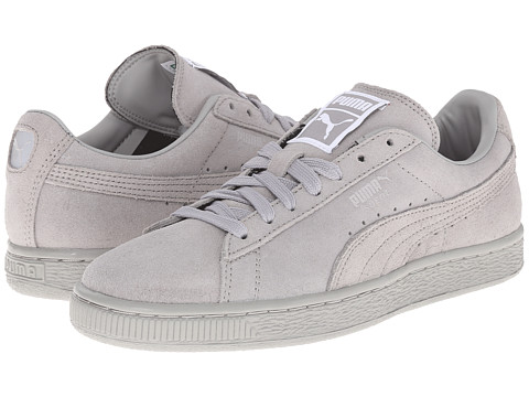 PUMA - Suede Classic Matt Shine (Drizzle/Drizzle) Women's Shoes
