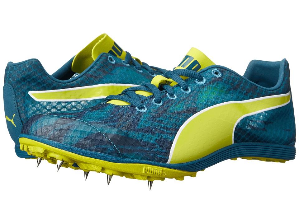PUMA - Crossfox XCS v2 (Blue Coral/Pagoda Blue/Sulphur Spring) Women's Shoes