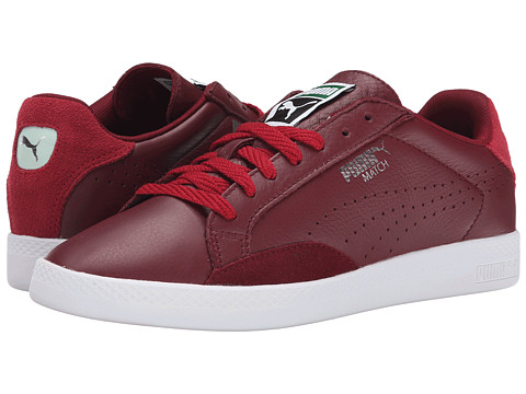 PUMA - Match Lo Basic Sports (Cabernet/Rio Red) Women