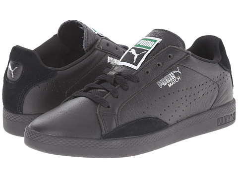 PUMA - Match Lo Basic Sports (Black/Black) Women's Shoes