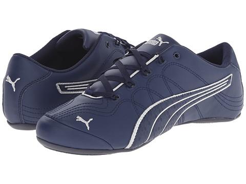PUMA - Soleil v2 Comfort Fun (Peacoat/Puma Silver) Women's Shoes