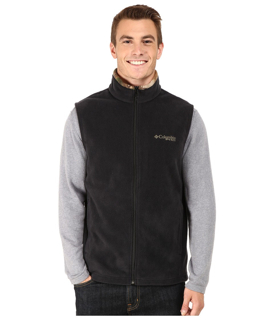 Columbia - PHGtm Fleece Vest (Black) Men's Vest