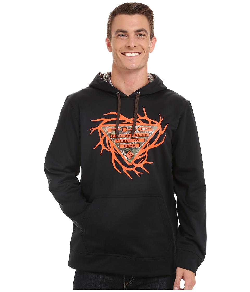 Columbia - PHG Antler Hoodie (Black) Men's Sweatshirt