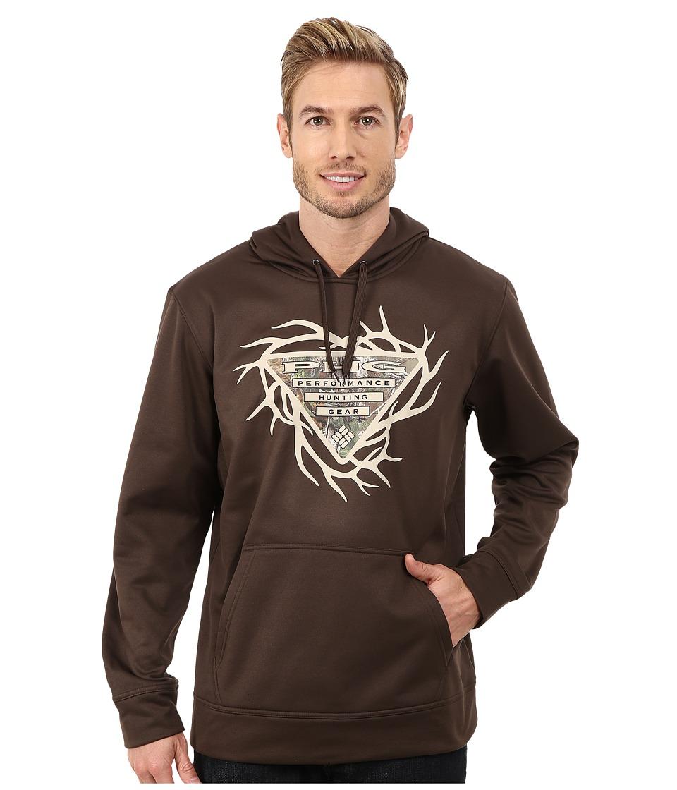 Columbia - PHG Antler Hoodie (Cordovan) Men's Sweatshirt