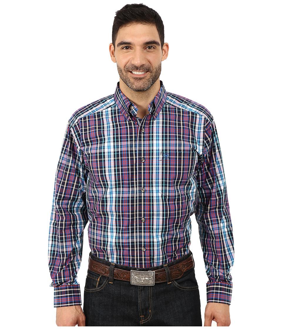 Ariat - Katin Shirt (Multi) Men's Long Sleeve Button Up
