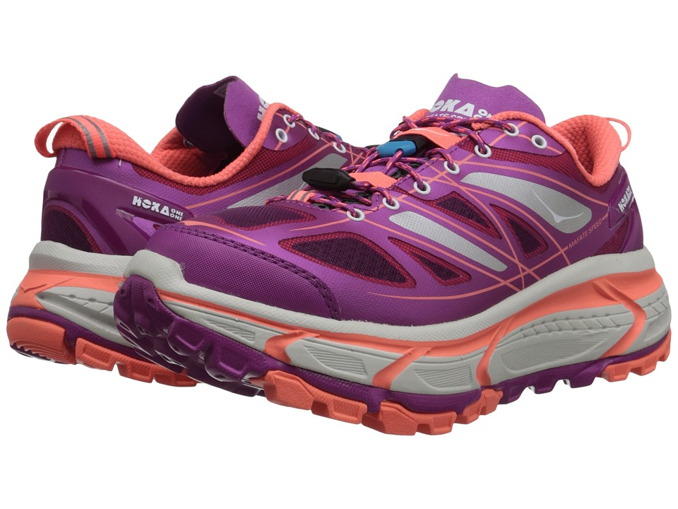 Hoka One One - Mafate Speed (Wild Aster/Neon Coral) Women's Running Shoes