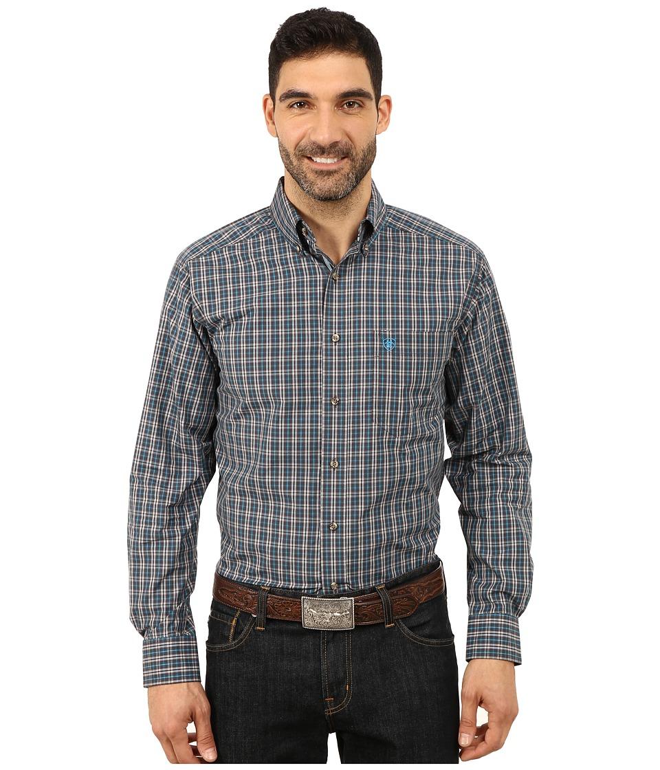 Ariat - Yuma Long Sleeve Shirt (Nine Iron) Men's Long Sleeve Button Up